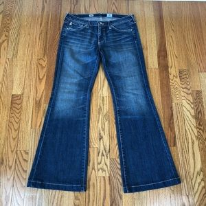 Adriano Goldschmied AG Belle Flare Jeans Sz 30R